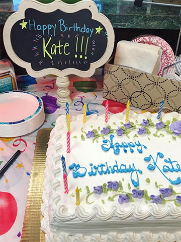 Kate birthday